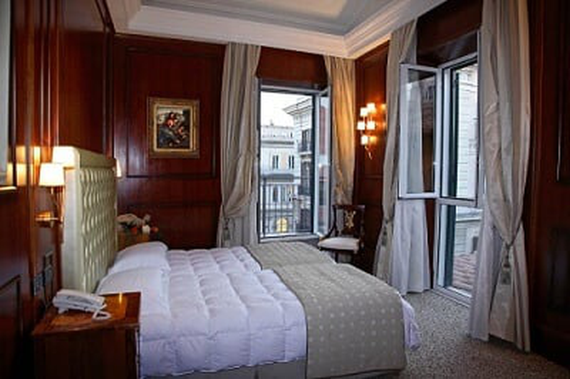 boutique hotel trevi rom